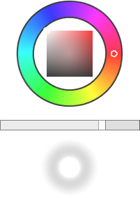 The color selector