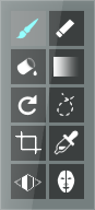 tool modes buttons